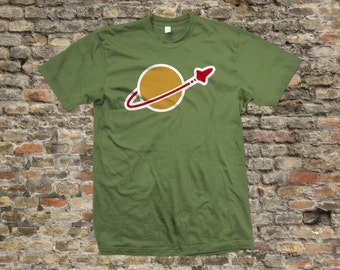 Space logo T Shirt 100% cotton - 773