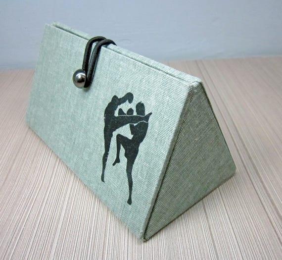 8babcc81d1f Anniversary gifts for boyfriend Hard glasses case Kickboxer