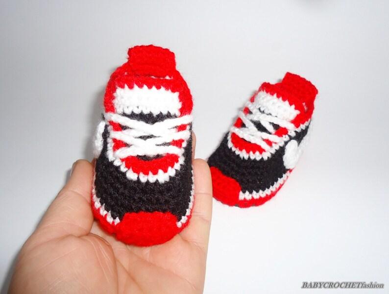 Häkeln Baby Converse häkeln Baby Schuhe häkeln Sneakers