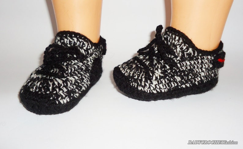 8838411adc9b Crochet Baby Shoes Yezzy 350 boost Toddler shoes Newborn