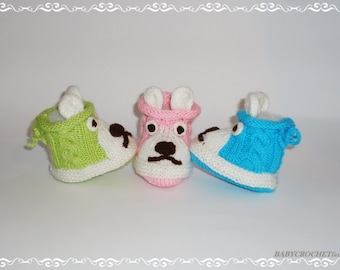 Knitted Baby Booties, Cute Baby Boots, Baby crochet boots, Newborn Baby Boots, Knitted baby booties, Knitted Boots