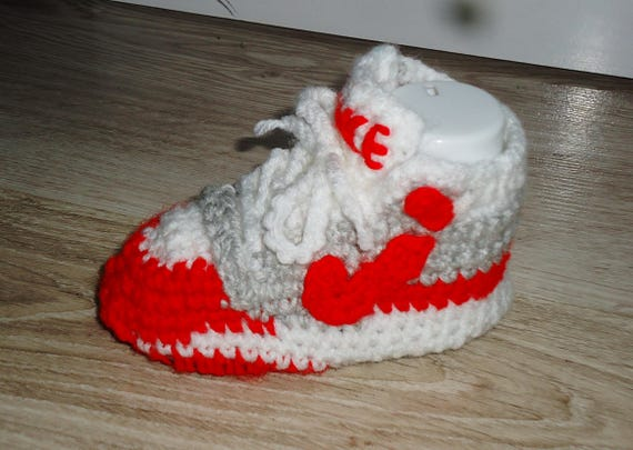 Nike air max 1 shoes Crochet baby shoes Nike shoes Air max  8e98c9bcd248