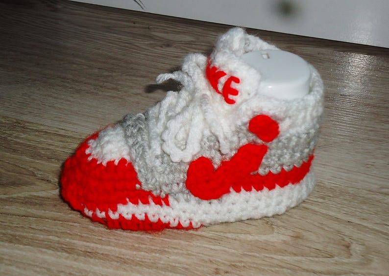 sports shoes fcac6 13f9b Nike Air max 1 Schuhe Gehäkelte Babyschuhe Nike Schuhe Air | Etsy