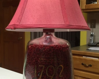 1792 Large 1.75L bourbon lamp