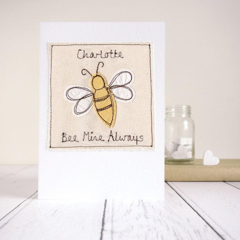 Hap Bee Birthday Bumble Bee Card Hap Bee Anniversary Personalised Bee Birthday Card Belated Birthday Card Bee Kind Bees Knees