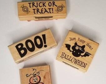 1pcs Vintage Pumpkin Basket Rubber Stamp Candy Stamps ST002P \u03a6 15mm Mini Rubber Stamps Pumpkin Stamps