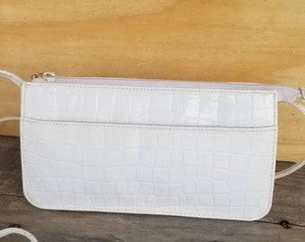 7f40f18f241d Vintage Giani Bernini   Shoulder Bag   Crossbody   White Purse   White  Handbag