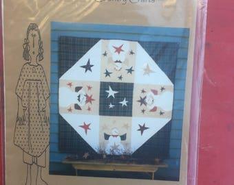 "Catch a Falling Star Quilt Pattern. 59 x 59"". HALF PRICE!"