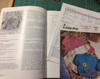 Babies & Toddler Six to Knit Four to Crochet Pattern Books