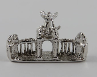 CNE Princess Gate Toronto Sterling Silver Vintage Charm For Bracelet