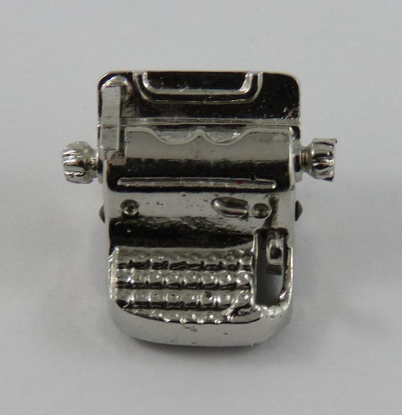 Typewriter Mechanical Vintage Charm For Bracelet
