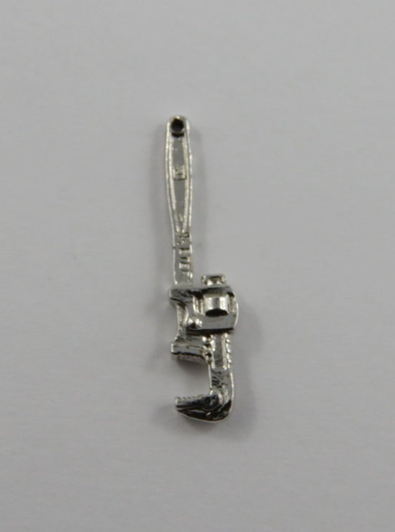 Wrench Sterling Silver Vintage Charm For Bracelet