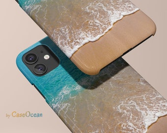 iPhone 12 case Ocean Blue Beach case for iPhone 11 Pro Max iPhone XR X 8 7 Plus case for Galaxy Note 9 Note 8 Galaxy S10 S9 S8 Plus