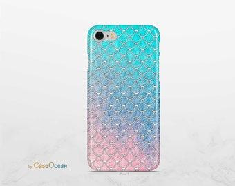 iPhone 7 case MERMAID LIGHT phone case iPhone 8 case iPhone X SE case iPhone 6s case Galaxy Note8 case Galaxy S8 Plus case Galaxy S7 case