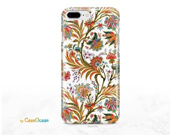 iPhone 11 Case Floral Arabesque iPhone 11 Pro iPhone XR iPhone 8 7 6s Plus SE Case for Galaxy Note 9 Note 8 Galaxy S10 S9 S8 Plus S7 Edge S6