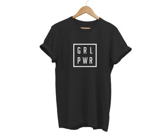 3329a85d91 Grl Pwr Girl Power T Shirt Unisex Mens Womens Funny Hipster Swag Tumblr  Fashion
