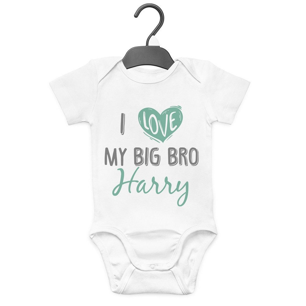 I Love My Grandad Baby Vest Bodysuit Cute funny Gift BabyGrow Clothing