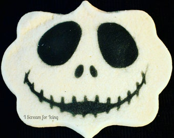 Jack Skellington (Nightmare Before Christmas) Stencil (cookies, crafting + more!) FREE US SHIPPING!!!