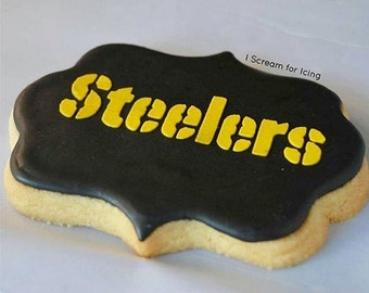 Customized Sports Team Cookies (YOUR favorite team's logo on a cookie!)
