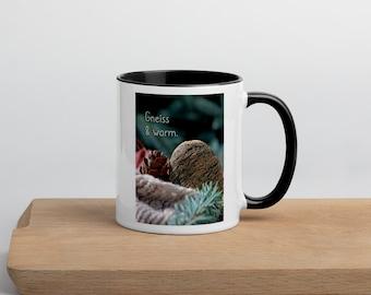 Geology Pun Mug with Color Inside,