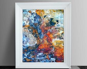 Abstract Art, Abstract Photo Print, Abstract Printable 11x14
