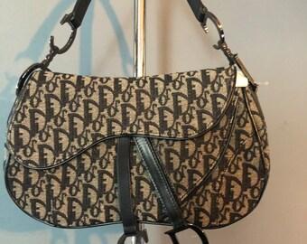 Christian Dior Black monogrammed 4912d93abd