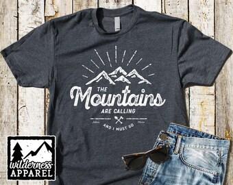 Baby Shower Gift Wild Kids T-Shirt Children/'s Camping Tee Toddler Mountain Shirt Wilderness Tee Kids Black T-Shirt Hiking Shirt