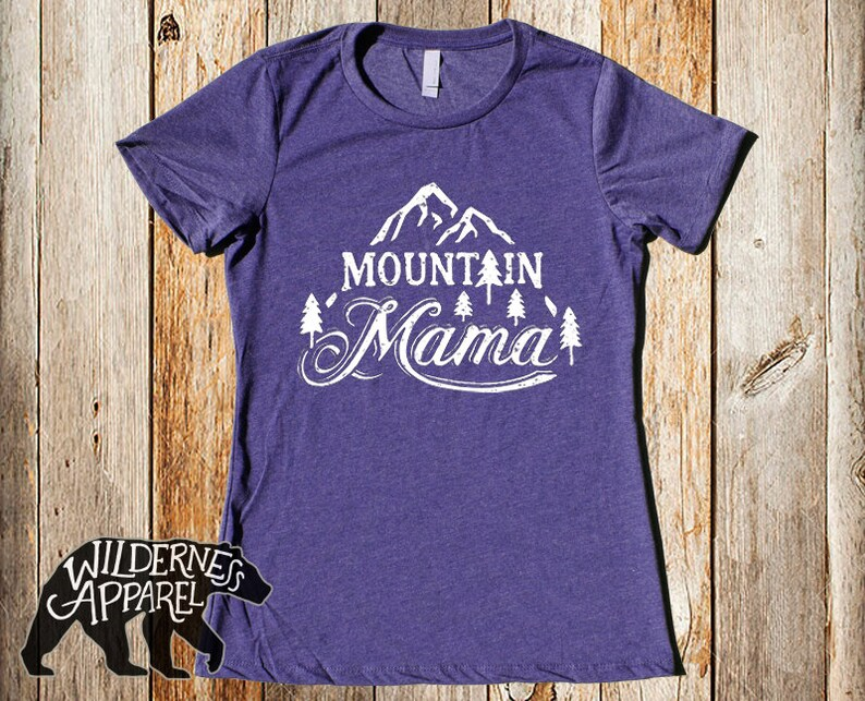 3eb18732 Mountain Mama T Shirt Mother's Day Shirt Camping Shirt | Etsy
