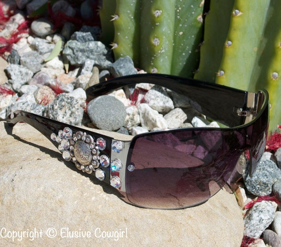 Rhinestone Cowgirl Bling Sunglasses Bling Bling Accessories Gift Ideas For Her Brown Sunglasses Cowgirl Sunglasses Western Sunglasses