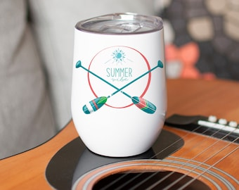 Verre à vin isolant Summer vibe