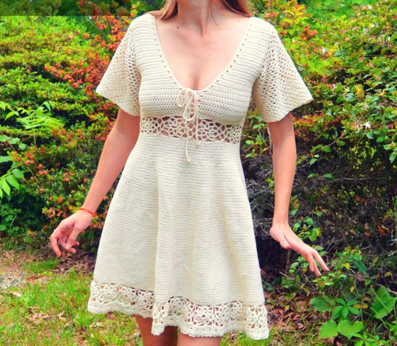 Crochet sun dress pattern  Synthesis image 0