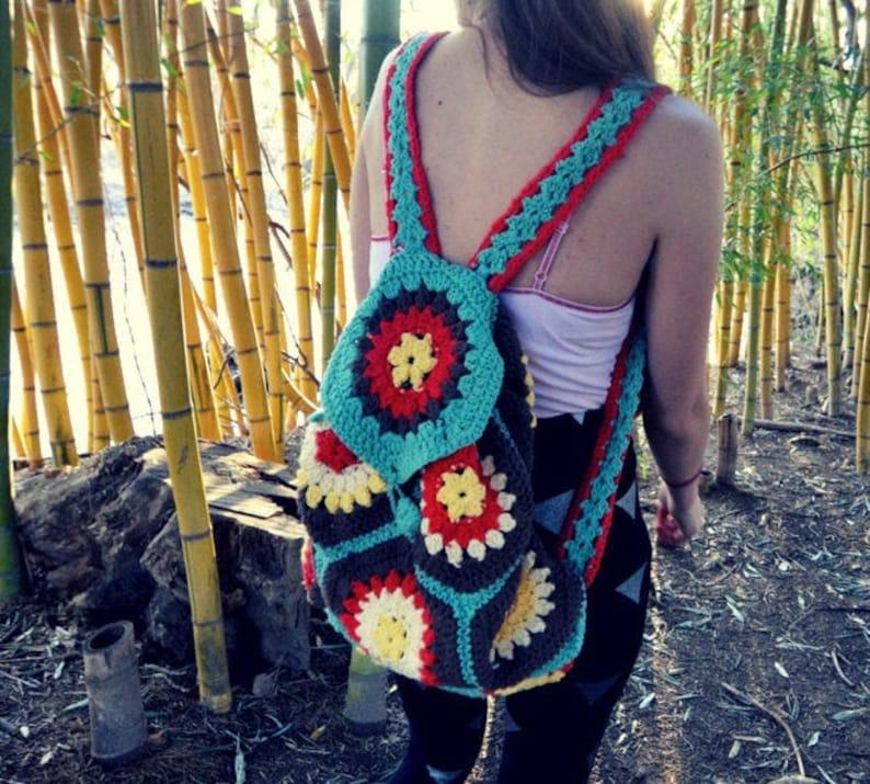 crochet backpack purse pattern wanderlust image 0