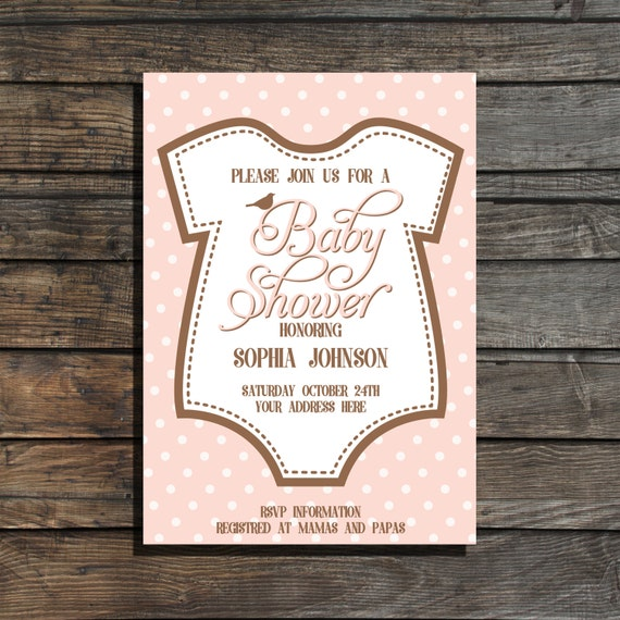 It's just a photo of Printable Onesie Baby Shower Invitations with regard to downloadable