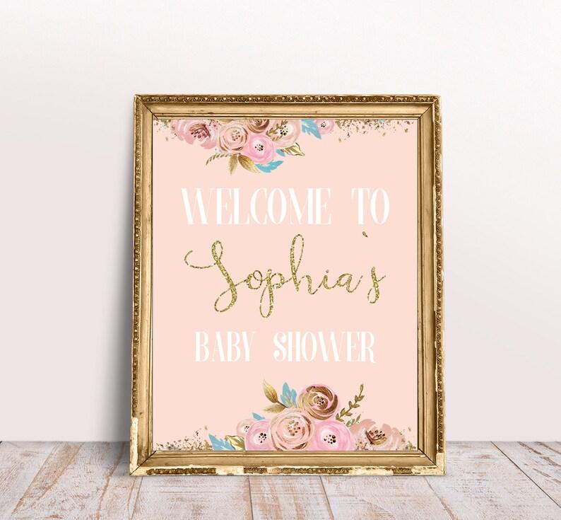 Baby Shower Signing Frame