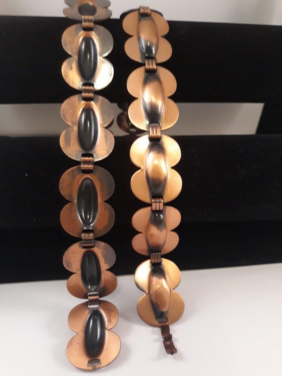 Modernist Renoir Copper Modernist Belt, pre 1954 R