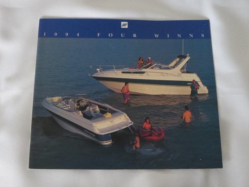 1994 Four Winns Boat Sales Brochure Catalog Freedom Horizon Candia Vista +