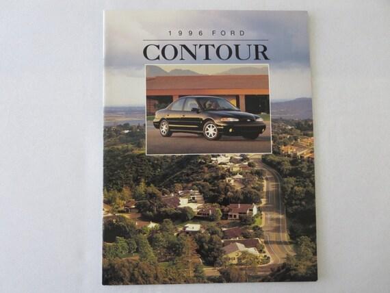 1996 ford contour sales brochure catalog advertising gl lx se etsy 1996 ford contour sales brochure catalog advertising gl lx se