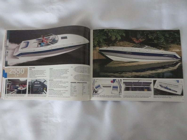 1992 Chaparral Boat Sales Brochure Catalog SX Villain Striker SL I/O SL  Outboard +