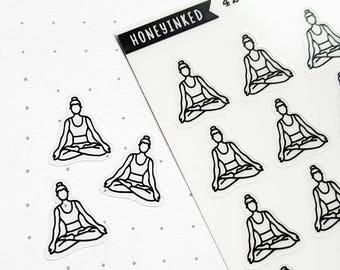 42 Planner Stickers - Yoga