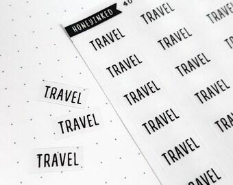 Travel Planner Stickers Travel Stickers