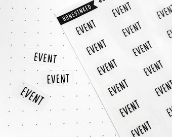 40 Event Stickers for Planners | Event Stickers