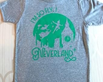 I'm so Fly, I Never Land Boy's T-shirt