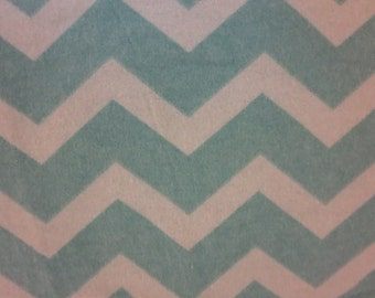 Teal and Blue Chevron-Baby/ Toddler Crib Sheet-Fitted Crib Sheet-Sheets- Bedding-Nursery-