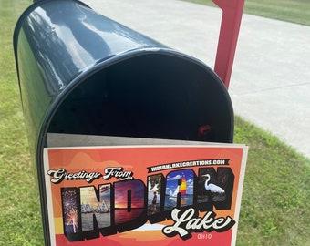 Indian Lake - Post Card - Lake Life - Indian Lake Gifts - Lake Decor - Indian Lake Ohio