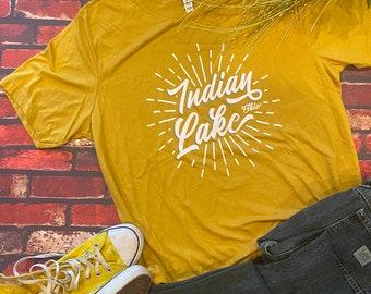 UNISEX - T-shirt - Lake Life - Indian Lake Gifts - Lake Apparel - Indian Lake Ohio
