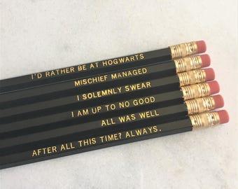 I Solemnly Swear Pencil Set