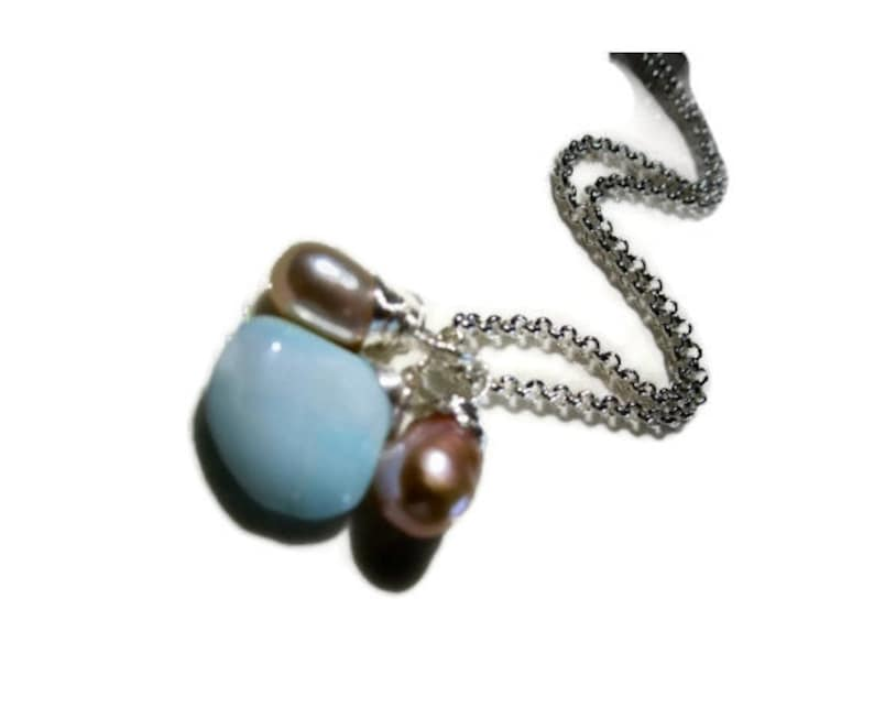 Mix and match jewelry AAA pearl pendant sterling silver add on charm June birthstone jewelry girl friend jewelry gift under 10