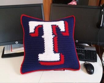 Texas Rangers Pillow