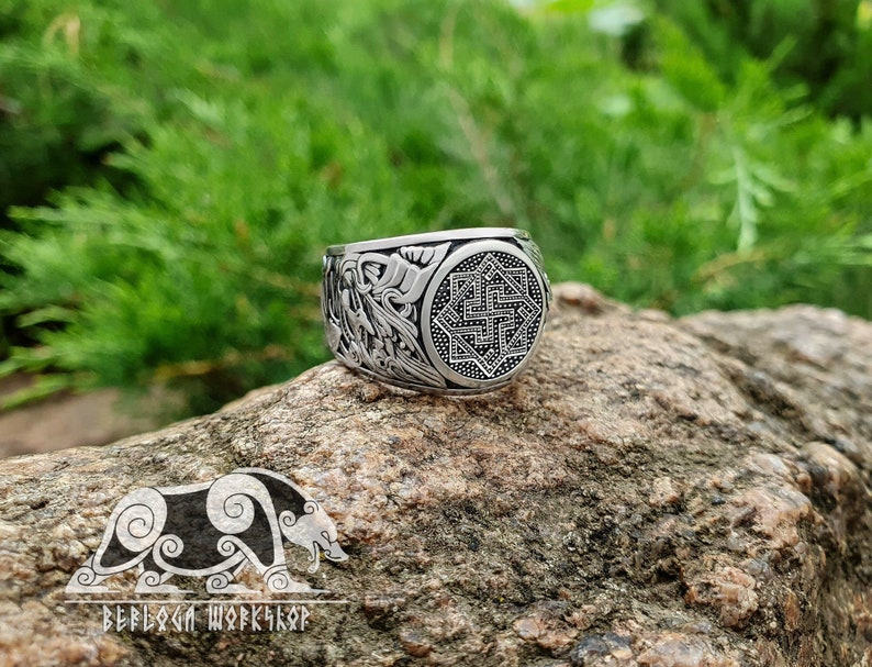 Valkyrie Ring Viking Ring Great Detailed Ring design based on image 0