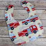 Firefighter Baby Gift - Firefighter Baby - Dribble Bib - Drool Bib - Teething Bibs